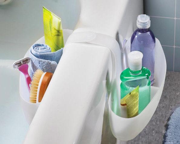 удобные приспособления для хранения шампуней