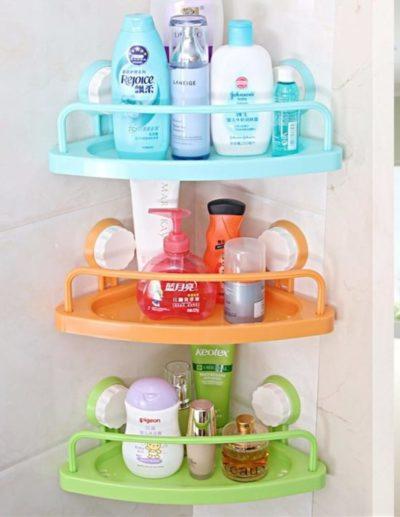 полочки для хранения шампуней