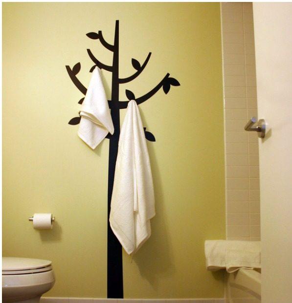 приспособления-для-хранения-полотенец-в-ванной-комнате