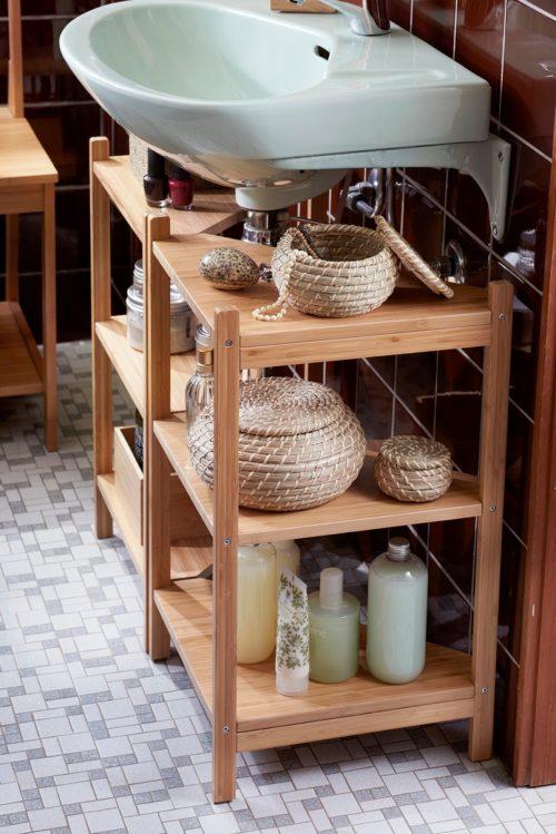 стеллаж-под-раковину-для-хранения-фото