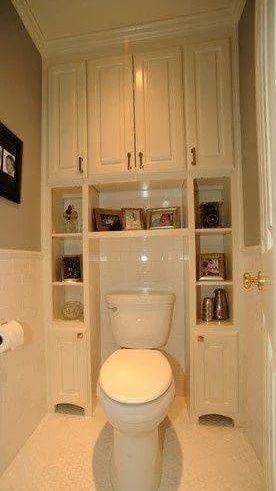 белый шкафчик