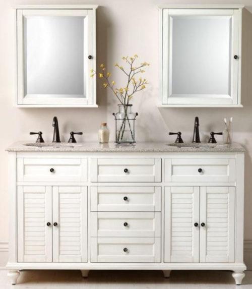 белый комод-в-ванную-комнату