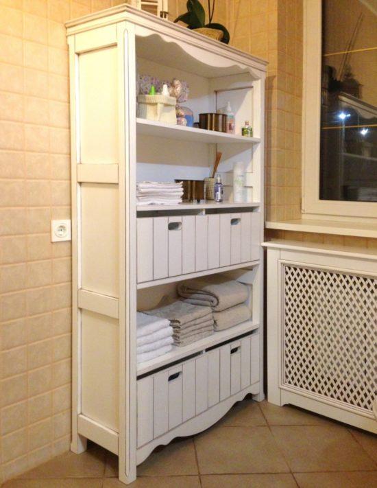 шкаф-комод-для-ванной-комнаты