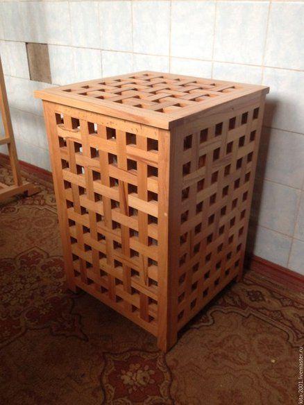 решетчатая-корзина-хранение-белья