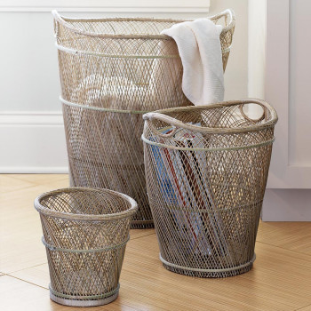 оригинальное-плетение-корзины-для-хранения