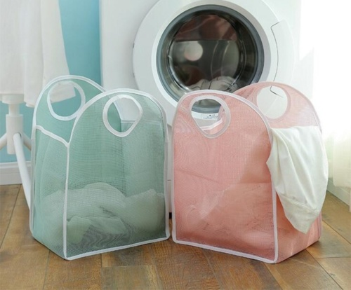 прозрачные-корзины-для белья