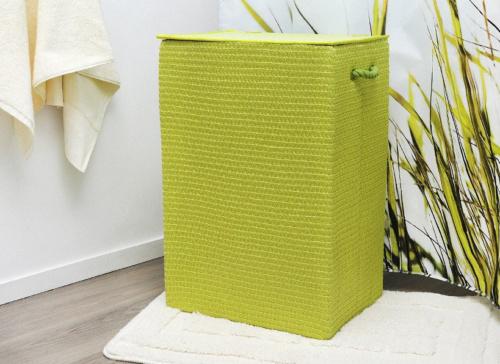 плетеная-корзина-зеленого-цвета