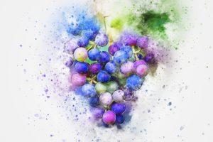 ягоды-винограда-пятна-рисунок