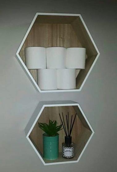 стильные полки в ванную комнату фото
