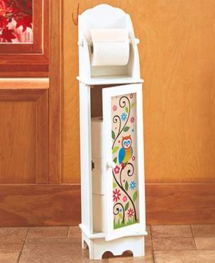домик для туалетной бумаги
