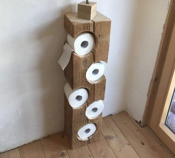 способ хранения туалетной бумаги