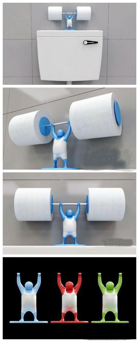 как хранить туалетную бумагу оригинально