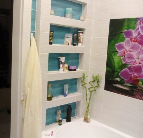 ниши в ванной комнате фото