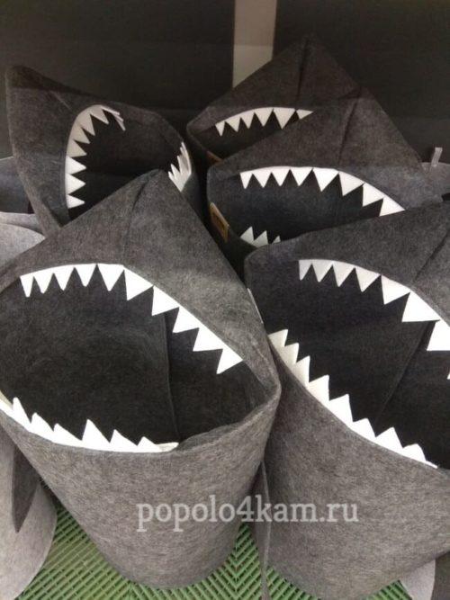 корзина-для-белья-акула