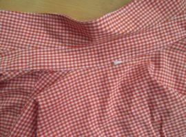 чистый ворот рубашки