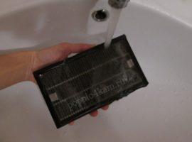 как помыть фильтр