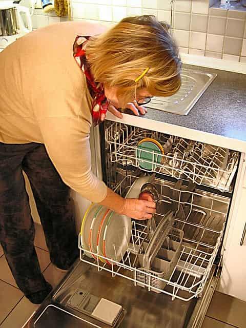 посудомоечная машина экономит воду