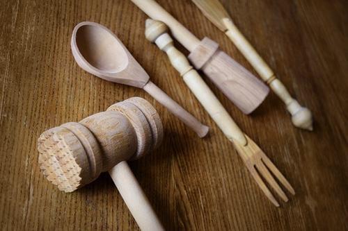 деревянные кухонные приборы