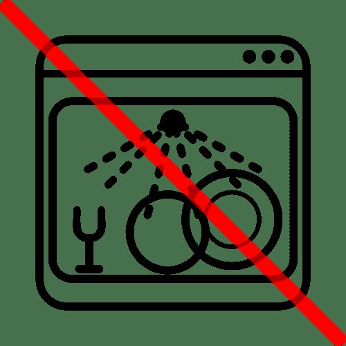 знак запрещающий мыть посуду в посудомоечной машине