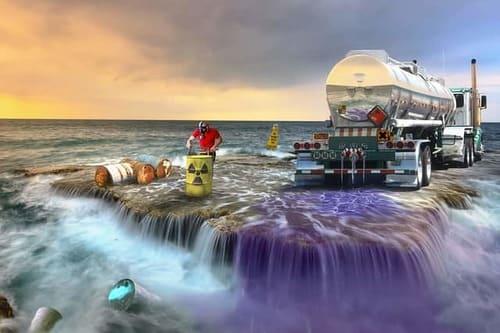 загрязнение океана отходами