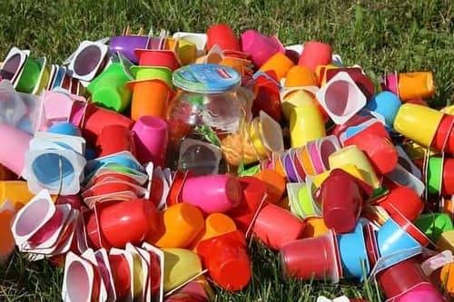 правильно подготовленный к сортировке пластик