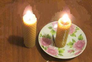 восковые-свечи-своими-руками